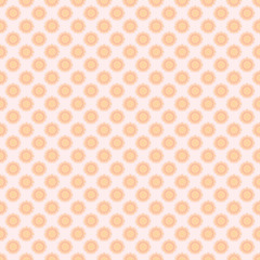Seamless the sun pattern for background. Vector.