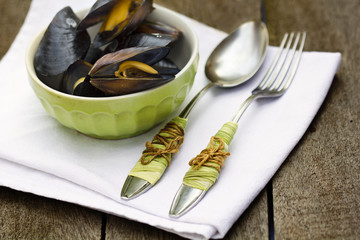 Salad of mussel