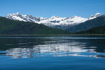 Reflections of Prince William Sound