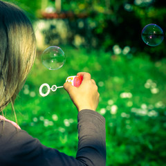 souffler des bulles