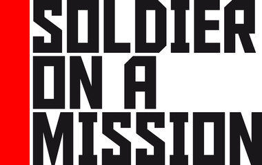 Cool Soldier on a Mission logo Design