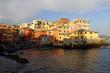 Genova - Boccadasse durante tramonto