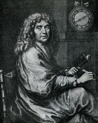 Moliere ( J. B. Nolin (1685) from painting of P. Mignard)