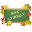 Vector School Blackboard