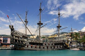 Genova - veliero di Polanski nel Porto Antico
