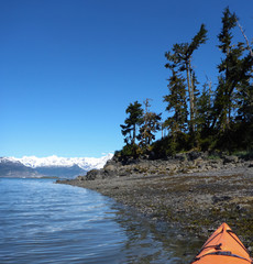 Kayaking Prince William Sound