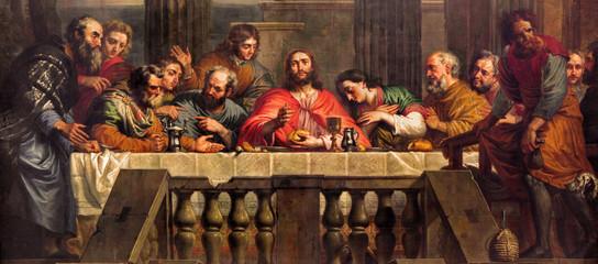 Mechelen - The Last Supper  in church Our Lady across de Dyle.