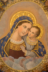 Mechelen - Madonna from st. Katharine church