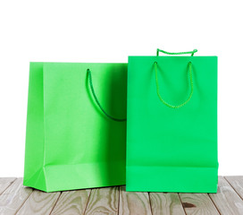 Two paper Shopping bags