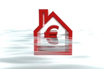 hypotheek onder water restschuld op huis