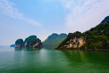 View of Halong Bay, Vietnam