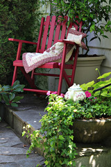 Cottage garden chair