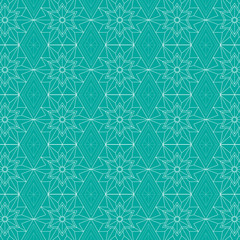 Geometric Star Background Pattern