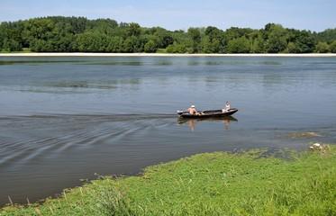 Gabare sur Loire