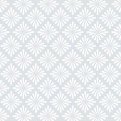 White Dot Flower Pattern Design