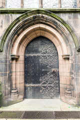 Entrance to Chester Cathedral