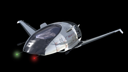Drone design for surveillance or sci-fi alien war spacecrafts