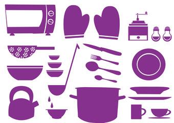 ikony,znak,symbol,klipart,kuchnia,gotowanie