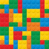 Fototapety seamless vector. plastic construction blocks.