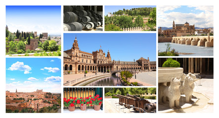 Famous places of Spain