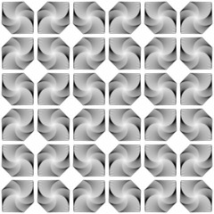 Design seamless monochrome decorative diamond geometric pattern