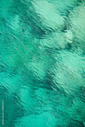 canvas print picture Wasser, Meer, See, azur, türkis, blau, Karibik, Textur