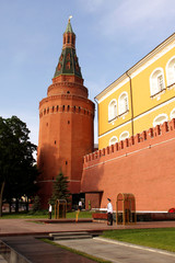 Kremlin Moscow's in the summer