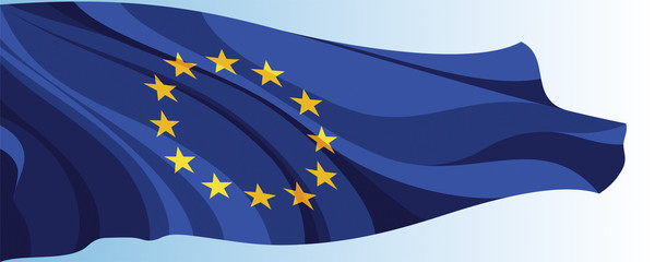 The national flag of the European Union
