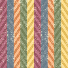 Scratched chevron seamless background. Vector