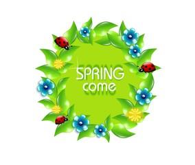 Spring Come Circle