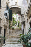 Stairs in Old City of Dubrovnik © vlad_v