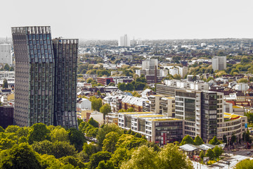 Hamburg von oben Luftaufnahme