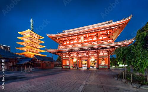 Asakusa Jinja in Tokyo