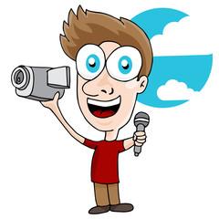Videographer Man