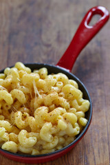 Mac and cheese with spices