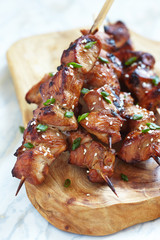 Asian teriyaki chicken