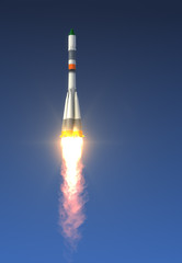Cargo Rocket Launch