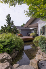 Designer Home with Stream