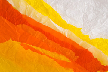 orange and yellow paper design
