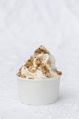 Frozen Joghurt Erdnuss