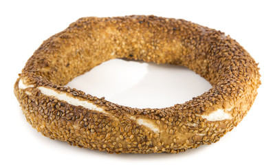 Turkish bagel called simit