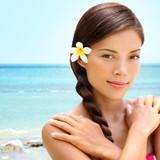 Spa wellness beach beauty woman