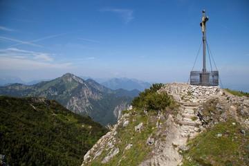 Gipfelkreuz auf dem Hochfelln