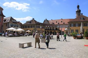 Weikersheim Marktplatz Deutschland
