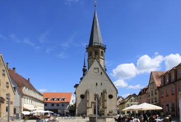 Sankt Georg Weikersheim Baden-Württemberg