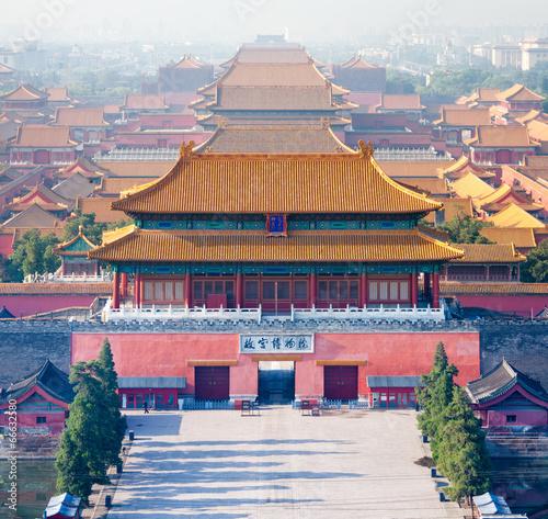 Foto op Canvas Beijing Forbidden City in Beijing