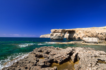 Coast and Azure Window formation on Gozo