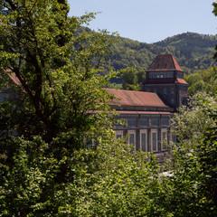 Wasserkraftwerk Laufenburg am Hochrhein