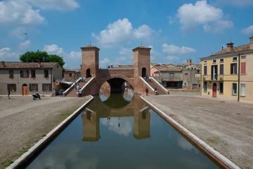 Trepponti in Comacchio