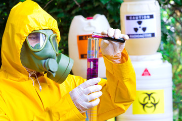 Testing of toxic substances